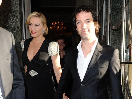 Kate Winslet e Ned Rocknroll, que nasceu Abel Smith