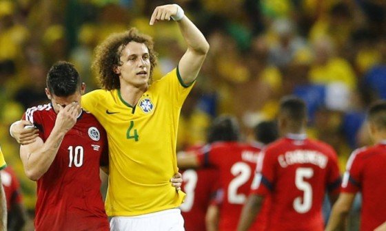 DAVID LUIZ E JAMES RODRIGUES